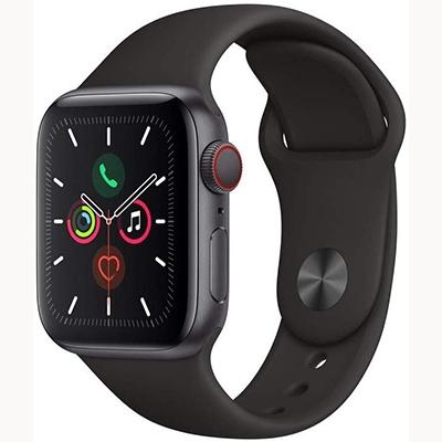 Apple Watch Series 5 On EMI-GPS 44mm black band